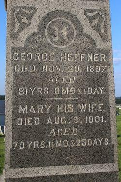 Mary <I>Spohn</I> Heffner