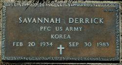 Savannah Derrick