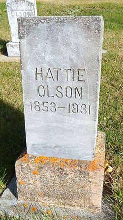 Hattie <I>Thorson</I> Olson