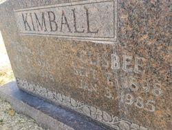 Clisbee Kimball