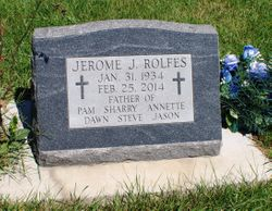 """Jerome """"Jerry"""" Rolfes"""