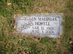 Rosellen <I>Maliniak</I> Howell