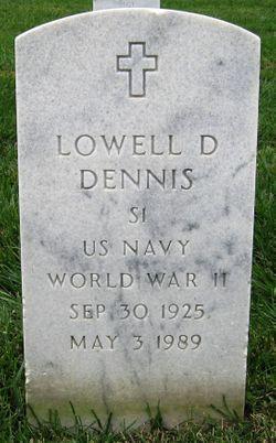 Lowell D Dennis