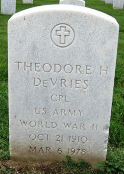 Theodore H Devries