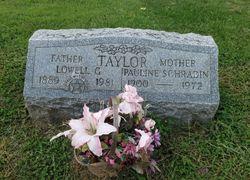 Pauline <I>Schradin</I> Taylor