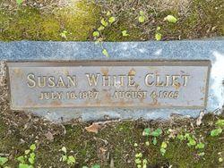 Susan Ora <I>White</I> Clift