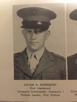 Maj Julian Delano Dusenbury