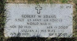 Lillian A Adams