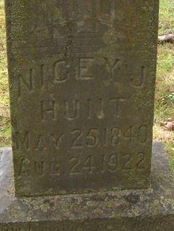Nicey Jane <I>Ellis</I> Hunt