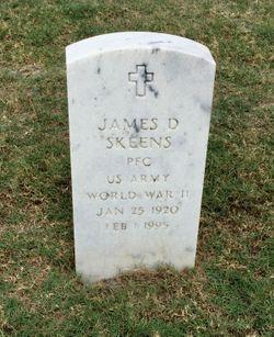 James D Skeens