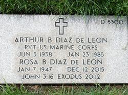 Arthur B Diaz De Leon
