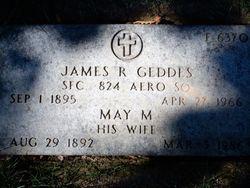 May <I>Morrow</I> Geddes