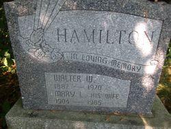 Walter Wesley Hamilton
