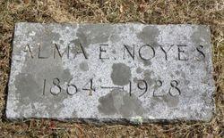 Alma Emily <I>Huntress</I> Noyes