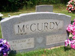 Julia <I>O'Dell</I> McCurdy