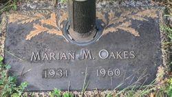 Marian Margaret Oakes