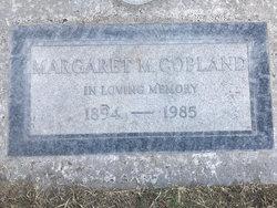 Margaret Elizabeth <I>Miller</I> Copland