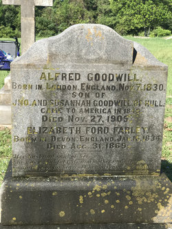 Capt Alfred Goodwill
