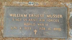 """William Ernest """"Bill"""" Musser"""