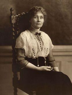 Emmeline <I>Goulden</I> Pankhurst