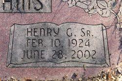 Henry G McWilliams, Sr