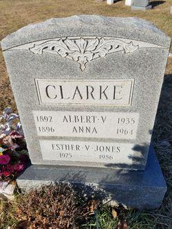 Albert V Clarke