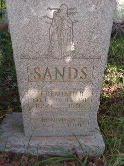 "Minnie V. ""Nancy"" <I>Irons</I> Sands"