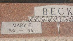 "Mary Elizabeth ""Lizzie"" <I>Elliott</I> Beck"