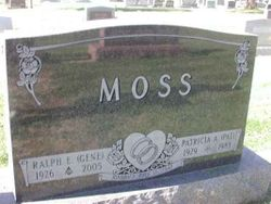 "Patricia Ann ""Pat"" <I>Amos</I> Moss"