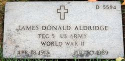 James Donald Aldridge