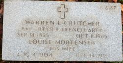 Louise Mortensen Crutcher