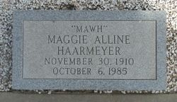 Maggie Alline <I>Wood</I> Haarmeyer