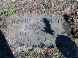 Minnie <I>Cantrell</I> Bagwell