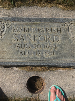 Mabel <I>Parish</I> Sanford