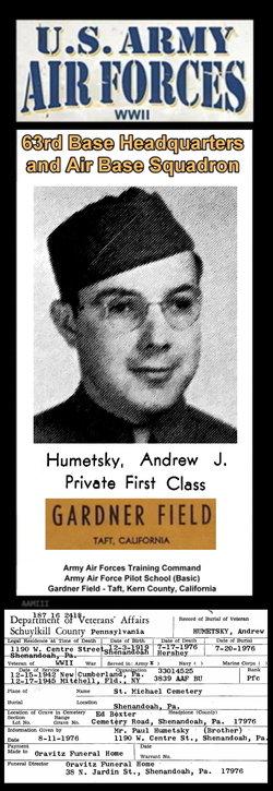 Andrew J Humetsky