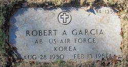 Robert A Garcia