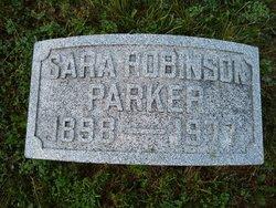 Sara L. <I>Robinson</I> Parker