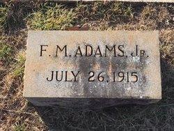 F. M. Adams, Jr