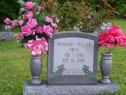 Margaret <I>Phillips</I> Price