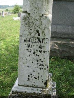 """Sarah E """"Sallie"""" <I>Smith</I> Thoroman"""