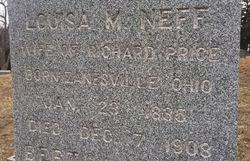 Louisa M. <I>Neff</I> Price