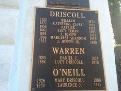 Margaret <I>Shannon</I> Driscoll