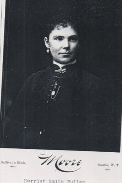 "Harriet Matilda ""Hattie"" <I>Smith</I> Pullen"