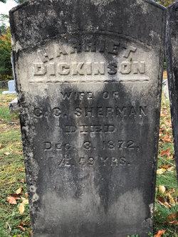 Harriet <I>Dickinson</I> Sherman