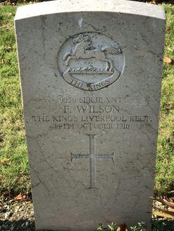 Serjeant F Wilson