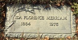 Ida Florence Merriam