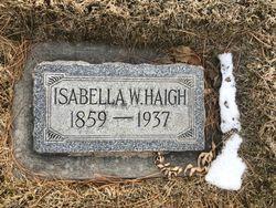 Isabella Charlotte <I>Webster</I> Haigh