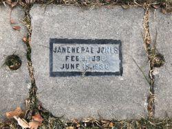 Janene Rae Jones