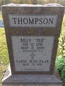 Billy Ted Thompson