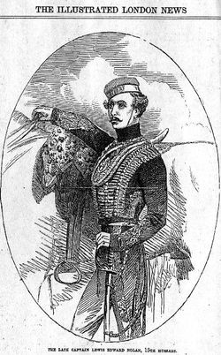 Capt Louis Edward Nolan